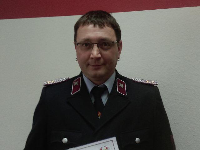 Gemeindewehrleiter der FFW Netzschkau, Kamerad Uwe Richter