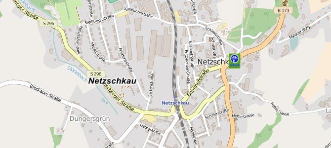 E-Bike-Stationen im Geoportal des Vogtlandkreises