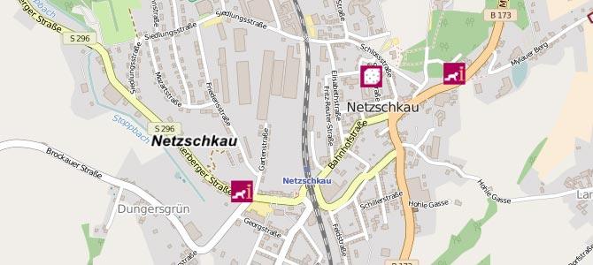 Kindertagesstätten im Geoportal des Vogtlandkreises