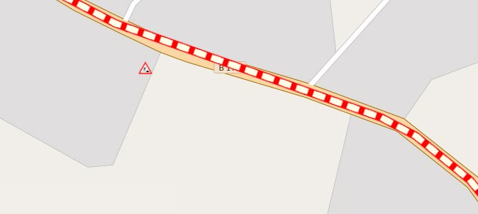Verkehrslage im Geoportal des Vogtlandkreises